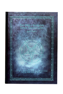 КНИГА ТЕНЕЙ - THE DEVIL'S NOTEBOOK TURQUOISE