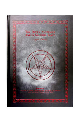 КНИГА ТЕНЕЙ - THE DEVIL'S NOTEBOOK BLACK