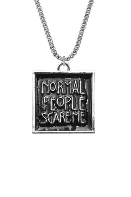 КУЛОН - NORMAL PEOPLE SCARE ME